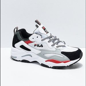 Fila Shoes   Limited Edition Fila Red